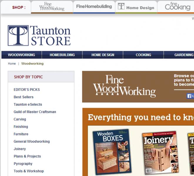 Woodworking tools supplies - Tauntonstore