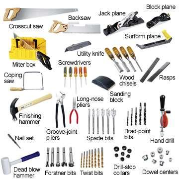 carpentry tools pt 1