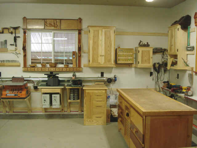 small woodworking shop