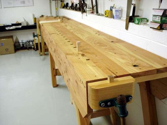 wood work table