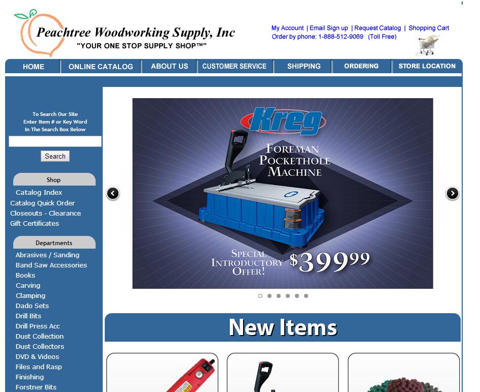 Peachtree Woodworking Website