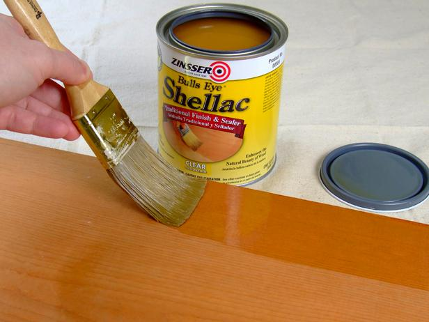 shellac finish by woodcrafter