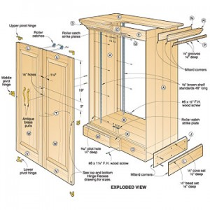 woodworking cabinet plans