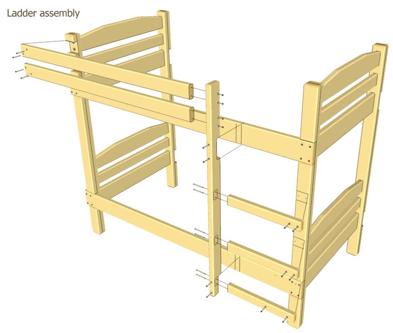 free loft bed plans