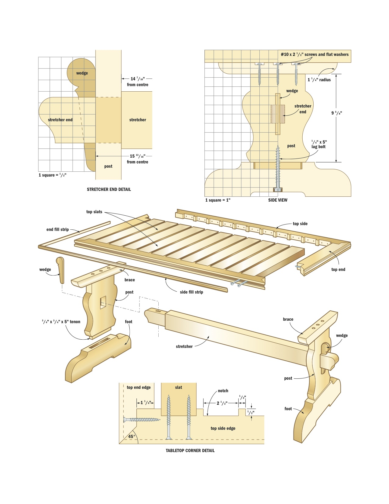 top dining table plans